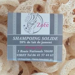 Shampoing avec 20% de lait de jument