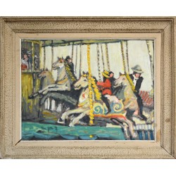 Peinture 'Le Manège'
