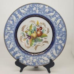 Assiette porcelaine début XIXème