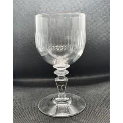 5 verres à vin blanc Baccarat 1910