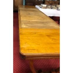Table 1940, 5 allonges 394 cm